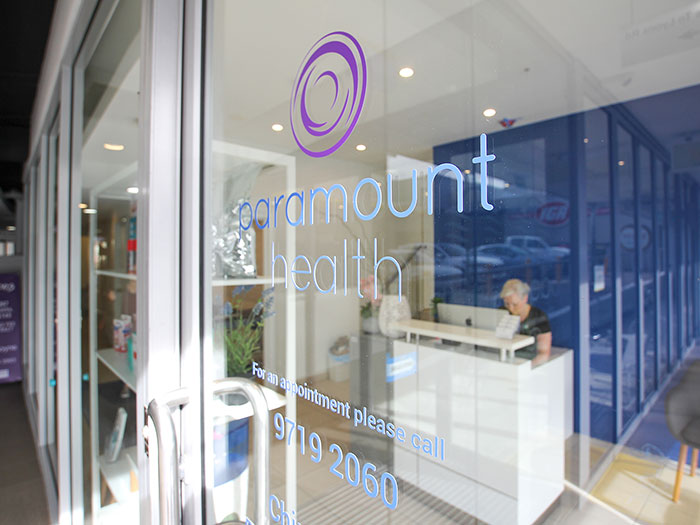 Paramount Health Massage Chiro Float Sauna Drummoyne